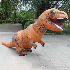 Jurassic Park Halloween Costume 2017 Inflatable Dinosaurs Halloween Costumes Clothing