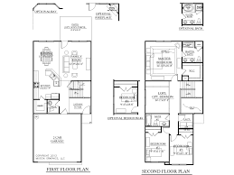 Narrow House Plans With Garage Narrow Lot House Plans With First Floor Master Bedroom Arts