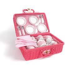 kids picnic basket picnic tea set cooking picnics teas and cups