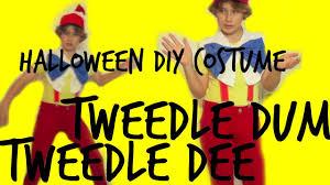 Tweedle Dee And Tweedle Dum Costumes Tweedle Dee U0026 Dum Halloween Costume Nathoween Youtube