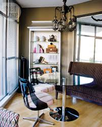 small space interior modern eclectic condo style at home