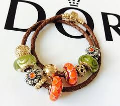gold clasp leather bracelet images 503 best pandora images pandora gold gold jpg