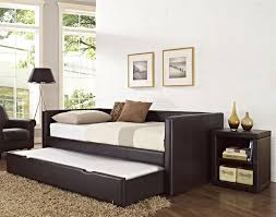 bedroom design ikea black wooden daybed with pop up trundle with