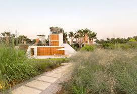 sarkis studios design four single family houses on the coast of