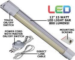 120 volt led light bar 120 volt 12 length 15 watt high power led undercabinet task light bar