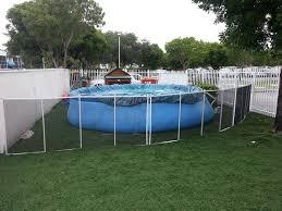 Backyard Pool Fence Ideas Above Ground Pool Fence Modern Peiranos Fences Above Ground