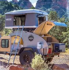 offroad trailer 20 best offroad trailer teardrop camper conversion vanchitecture