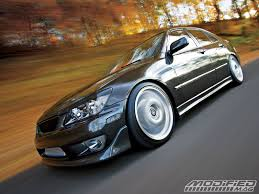lowered lexus is300 2004 lexus is300 turbo modified magazine