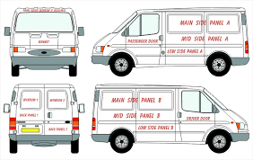 ford transit connect swb van vehicle wrap lettering u0026 graphic