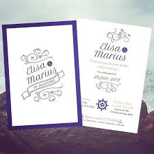faire part mariage theme mer 34 best mariage thème marin mer images on