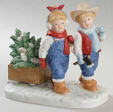 Home Interior Denim Days Figurines by Homco Denim Days At Replacements Ltd