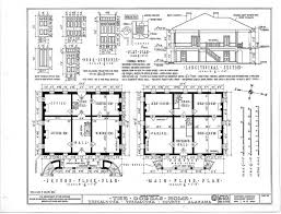 plantation floor plans southern plantation house plans luxury drawing 1 of 4 interior