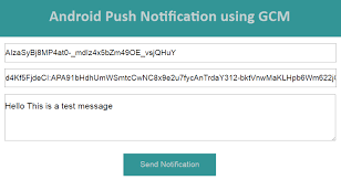 android gcm android push notification using gcm tutorial