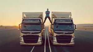 volvo truck corporation goteborg sweden the epic split feat van damme live test 6 volvo trucks tv