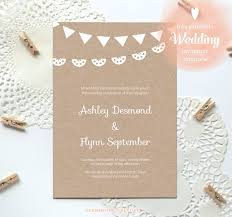 Wedding Template Invitation The Free Wedding Invitation Wblqual Com