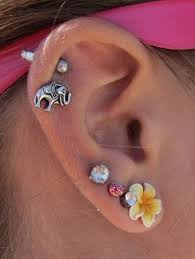 ear piercing earrings 90 ways to express your individuality with a cartilage piercing