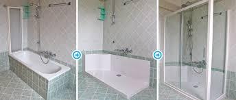 rimozione vasca da bagno ideadoccia sostituire la vasca con la doccia a parma