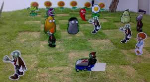 Plants Vs Zombies Decorations Plants Vs Zombies On My Lawn By Guelpacq On Deviantart