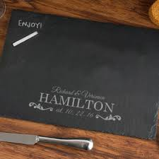 monogrammed serving trays personalized slate serving trays and memo boards monogram online