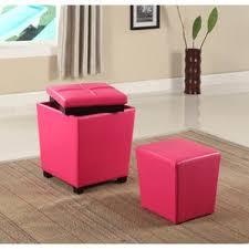 pink ottomans u0026 poufs you u0027ll love wayfair