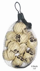 plastic halloween bags amazon com 9 mini small plastic skulls bag halloween table