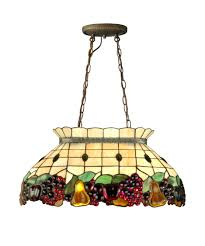Tiffany Chandelier Dale Tiffany 3207 2ltg Fruit 24 Inch Wide Billiard Light Capitol