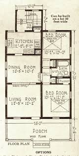 Sears Homes Floor Plans by California Bungalow Sears Modern Homes