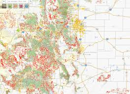 Canyon City Colorado Map by This Map Shows All Of The Trails In Colorado 9news Com