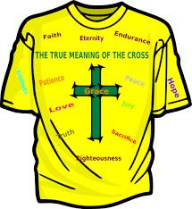 true meaning of the cross clip at clker com vector clip