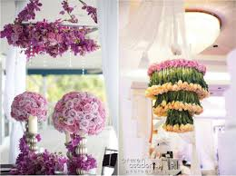 wedding floral centerpieces suspended wedding centerpieces floral chandeliers the