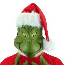 Grinch Halloween Costume Grinch Stole Christmas Grinch Latex Mask