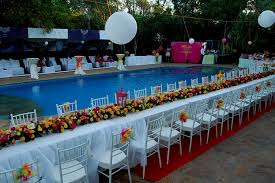 pool decorations for weddings decorating of party