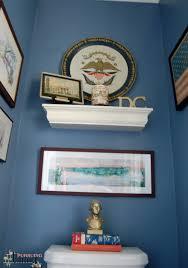 Vintage Powder Room One Room Challenge Powder Room Makeover The Reveal