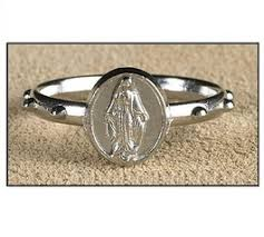 rosary ring miraculous rosary ring