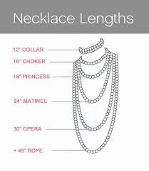 collar length necklace images 46 best jewellery lengths images necklace chain jpg