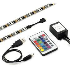 usb powered led light 5050 rgb 5v usb powered led light strip 30 leds m for tv back