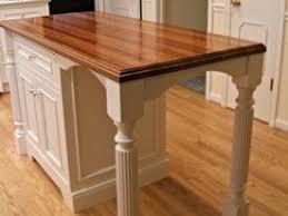 Kitchen Island Wood Countertop 95 Best Custom Wood Island Tops Images On Pinterest Butcher