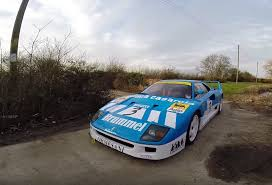 rally ferrari tax the rich thrashes a 2 million ferrari f40 gt around a farm