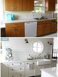 fixer white kitchen cabinet color these impressive before and after photos will make you want