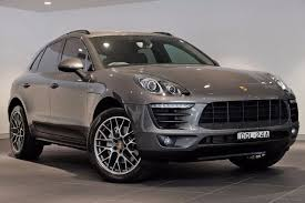 porsche macan grey porsche centre parramatta demonstrator u0026 pre owned listings