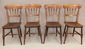 victorian kitchen furniture set of 4 victorian kitchen chairs antiques atlas