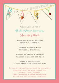 what to write in a baby shower book best shower