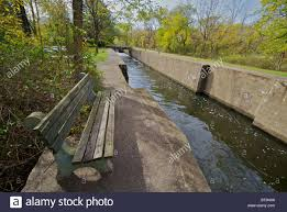 r aration canap delaware and raritan canal state park d r canal stock photo