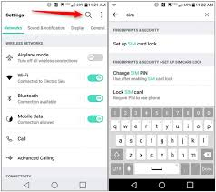 sim card locked android tip how to set sim card lock on android for added security