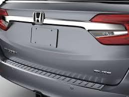 honda odyssey rear bumper genuine oem 2018 honda odyssey chrome rear bumper protector ebay