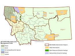 Montana River Map by Montana Fish Wildlife U0026 Parks Gis Data