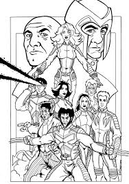 xmen coloring pages free printable x men coloring pages for kids
