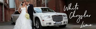 chrysler car white white chrysler limousine melbourne enrik limousines