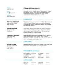 Modern Resume Samples by Subtle Creativity Free Resume Template By Hloom Com Interview