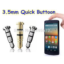 gadgets for android smart button click gadget 3 5mm earphone dustproof